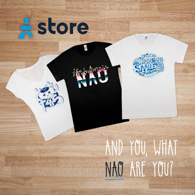 NAO T-shirts