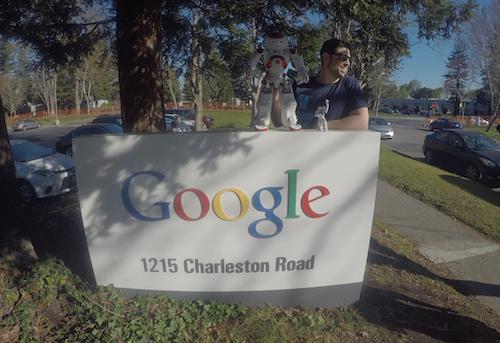 NAO robot at Google HQ