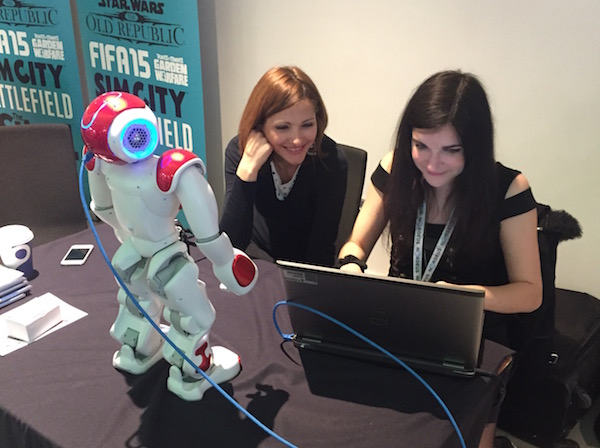 Céline Boudier at MGF London with NAO