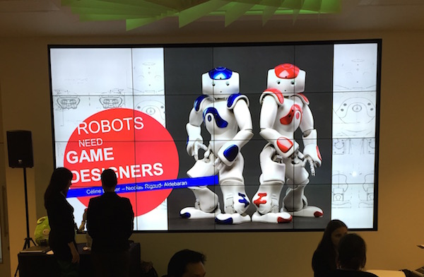 NAO Robot needs game designers