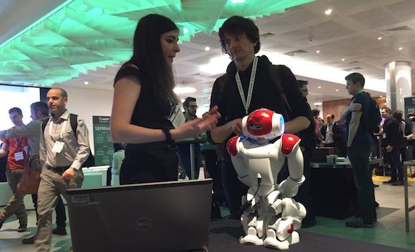NAO Robot at MGF London
