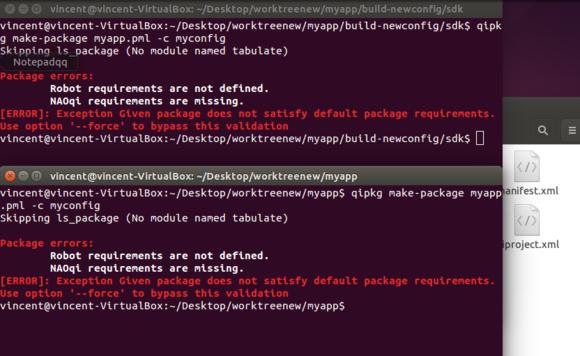 C++ SDK make package, page 2 | SoftBank Robotics Community