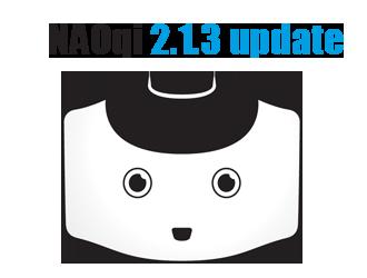 NAOqi 2.1.3 update